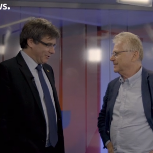 Puigdemont entrevista Euronews