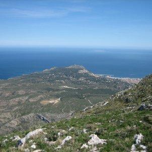 Cabo de San Antonio desde el Montgó