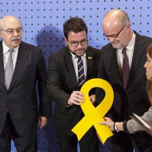 Consellers Mas-Colell Castells Economia Aragonès - Sergi Alcazar