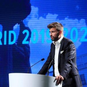Gerard Piqué Copa Davis presentació tennis   EFE