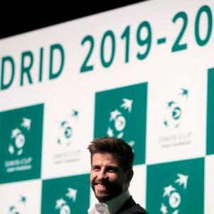 Gerard Piqué Copa Davis tennis presentació   EFE
