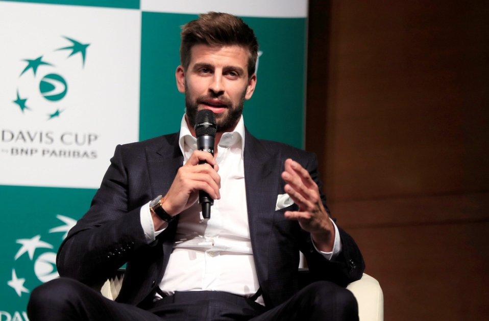 Gerard Piqué Copa Davis tennis Madrid presentació   EFE