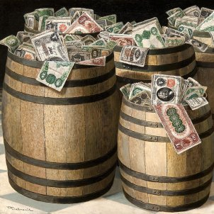 Barrels of Money (Victor Dubreuil, 1890)