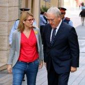 Elsa Artadi amb l'alclade de Vila-seca, Josep Poblet - acn