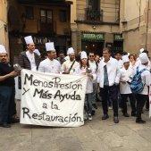 protesta gremi restauradors   @carinamejias