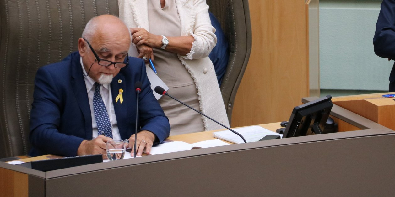 Jan Peumans Flandes Parlament - Acn