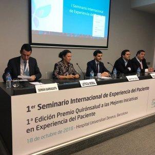 mesa inaugural seminario quironsalud