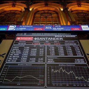 Borsa Madrid Ibex35 economia - Efe