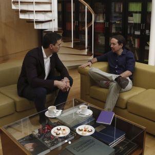 Pedro Sánchez-Psoe-Pablo Iglesias-Unidos Podemos-efe