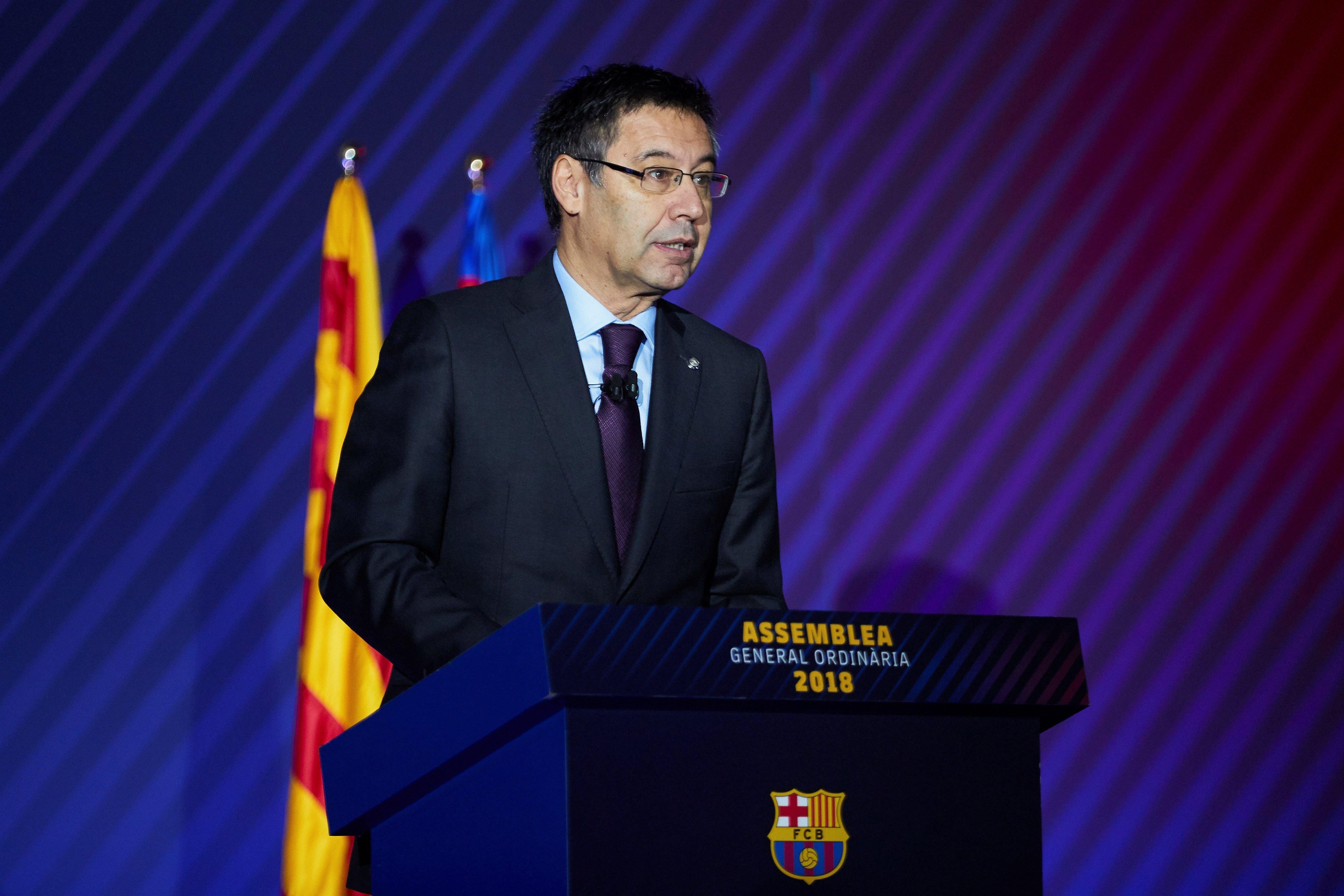 Assemblea Barça Bartomeu   EFE