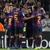 Barça pinya Sevilla EFE