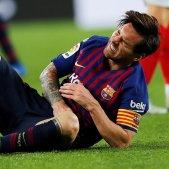 Leo Messi lesió FCB Barça   EFE
