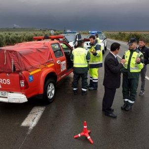 bombero desaparecido Malaga