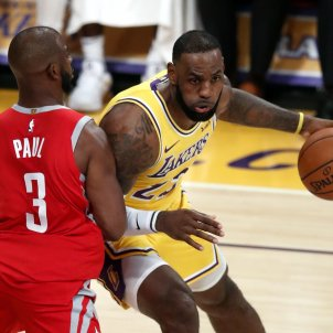 Lebron James Chris Paul Lakers Rockets NBA   EFE