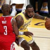 Lebron James Chris Paul Lakers Rockets NBA   EFE
