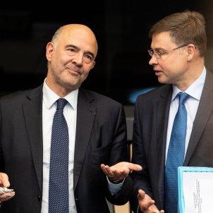 Moscovici  Valdis Dombrovskis Efe