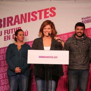 Elisenda Alamany comuns sobiranistes presentació - Carles Palacio