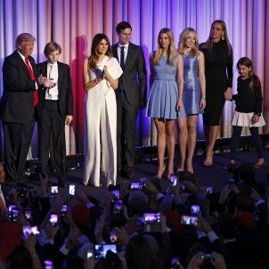 Familia Trump EFE