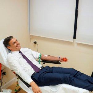 Pedro Sánchez donació sang 2 EFE