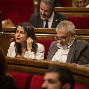 ines arrimadas ciudadanos parlament catalunya llistes espera sanitat - Carles Palacio