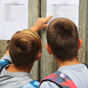 Nens tornada escola ACN