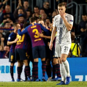 Barça Inter gol Champions   EFE