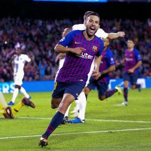 Jordi alba gol Inter Barça Champions   EFE
