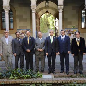 UB candidats rector. Foto UB