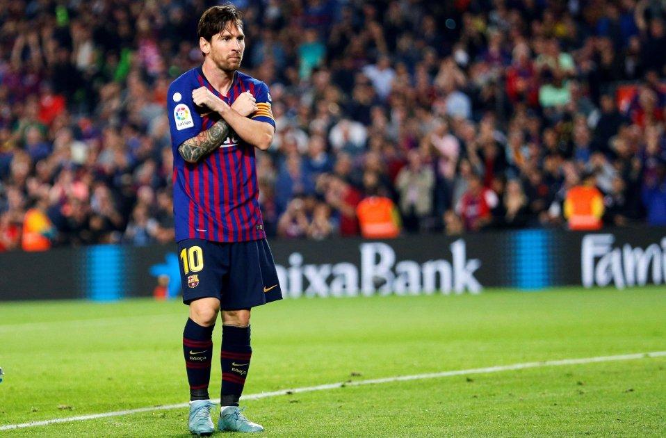 Leo Messi Barça Sevilla   EFE