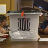 Mesa colegi urna electoral referendum 1-O - Sergi Alcazar
