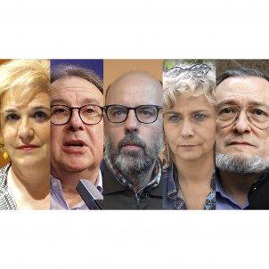 Qüestionari 27-O QUADRAT - Terribas, Basté, Cuní, Rahola i Niño Becerra (Guillem Camós)