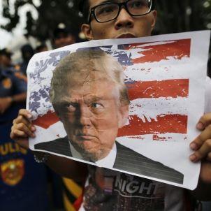 Manifestacio contra Trump - Efe