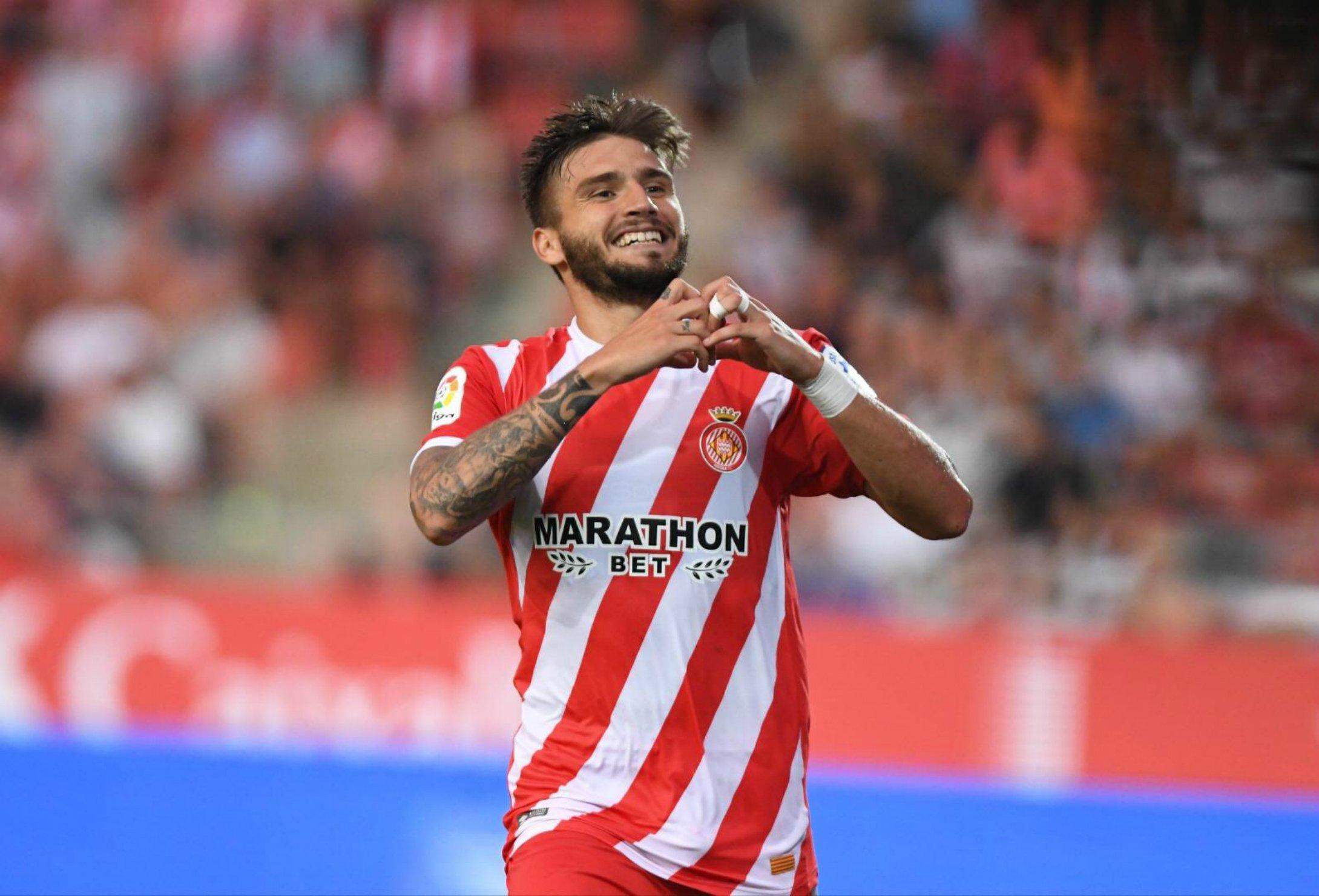 Portu celebració gol   Girona FC