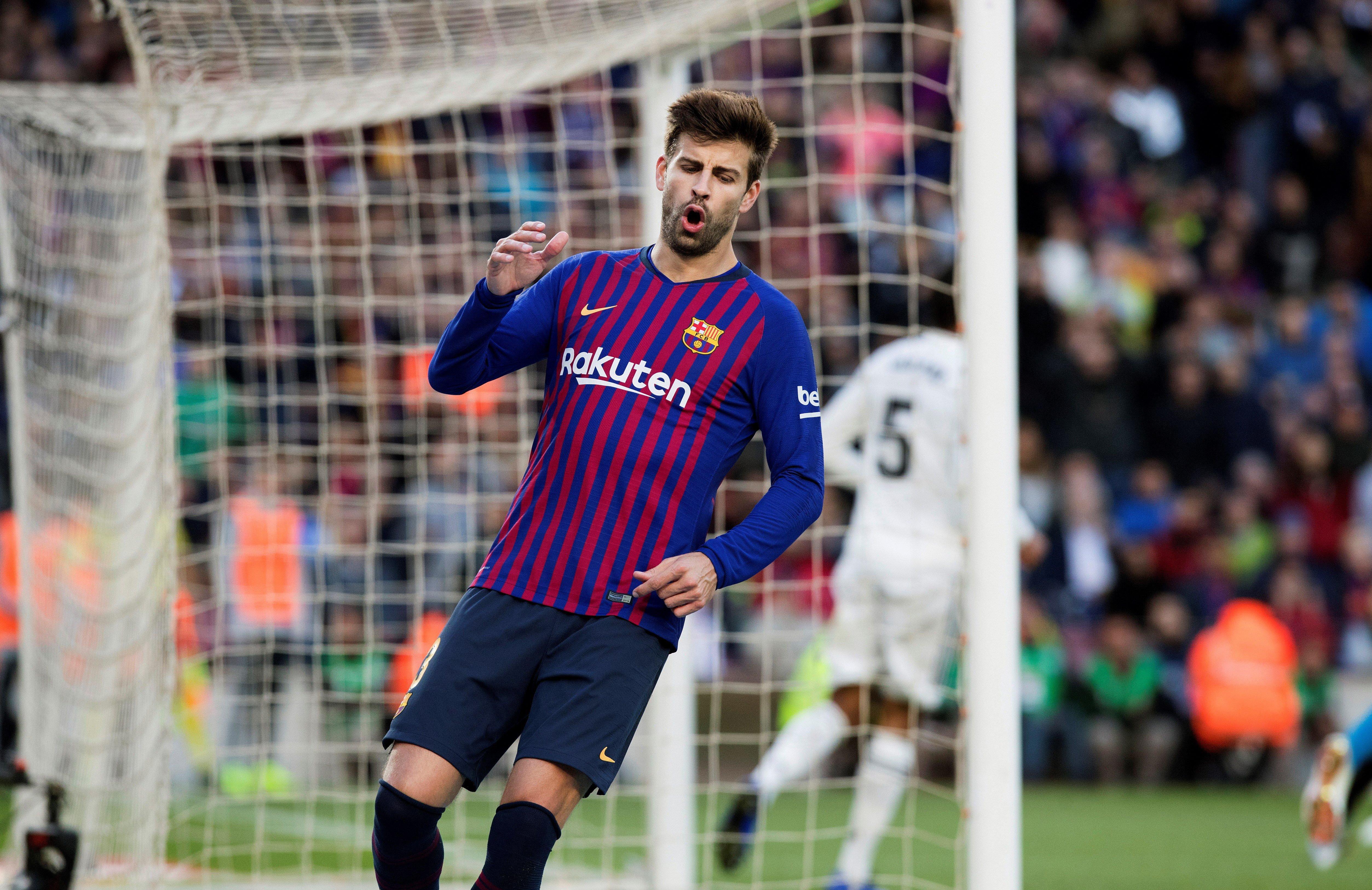 Gerard Piqué Barça Reial Madrid Clàssic EFE