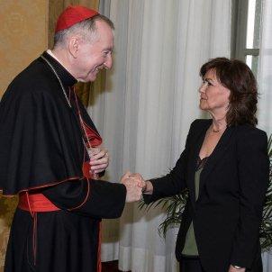 Carmen Calvo Vaticano EFE