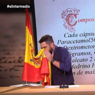 dani mateo bandera espanya  la sexta