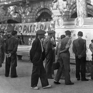 Barcelona. Guerra Civil espanyola (1936 1939). Font Fons David Seymour (1)