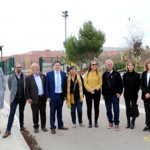 Eurodiputats a Lledoners ACN