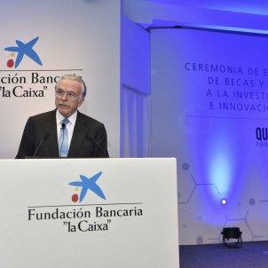Foto President Fainé Lliurament ajudes recerca Fundació Bancària Caixa