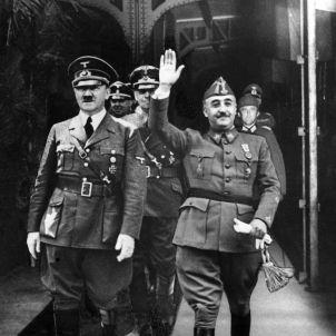 Entrevista Franco Hitler a Hendaya. EFE