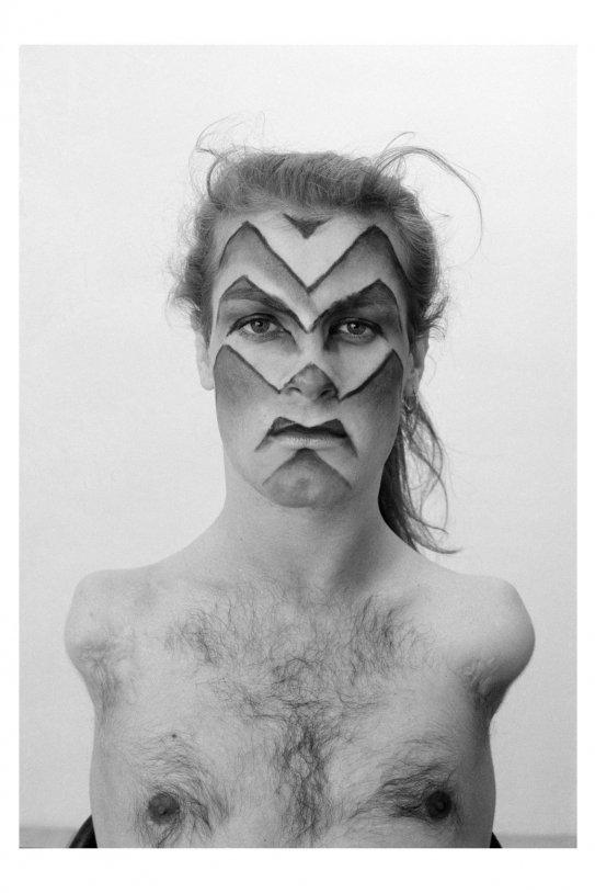Lorenza Böttler Face Art, Kassel 1983