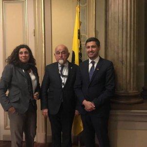 Reunió Societat Civil president parlament Flandes - @JosRosinol