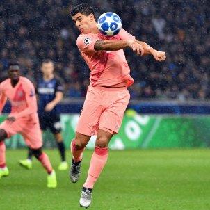 Luis Suárez Inter Barça Champions EFE