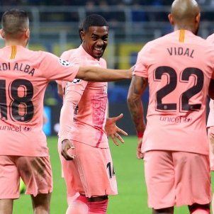 Malcom Inter Barça Champions EFE