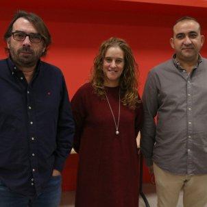 Camil Ros, Maria Recuero, Javier Pacheco; ACN