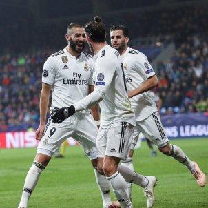 Benzema Viktoria Plzen Reial Madrid EFE