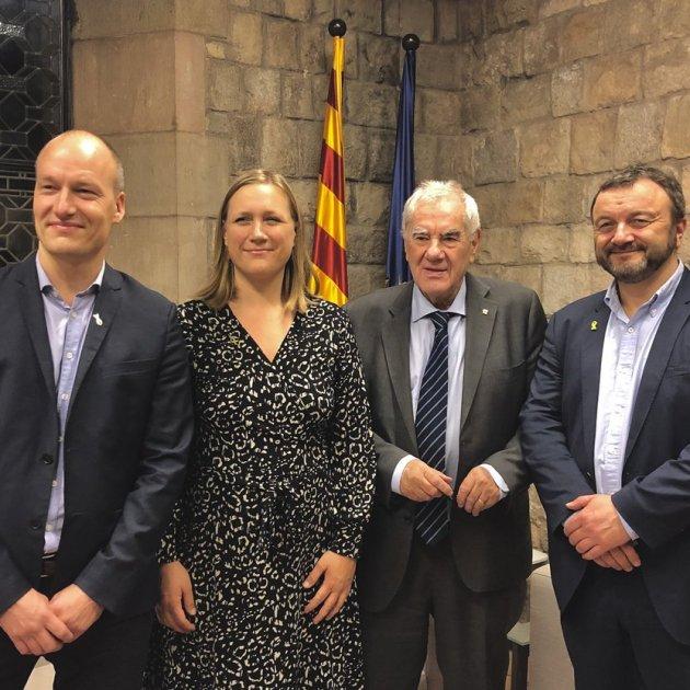 Reunió conseller Maragall diputats danesos - @exteriorscat