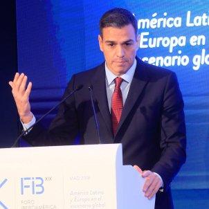 Sánchez, foro Iberoaméricano EFE