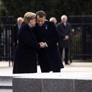 Merkel i Macron EFE