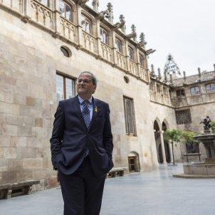 President de la Generalitat Quim Torra al Pati dels tarongers - SergiAlcàzar